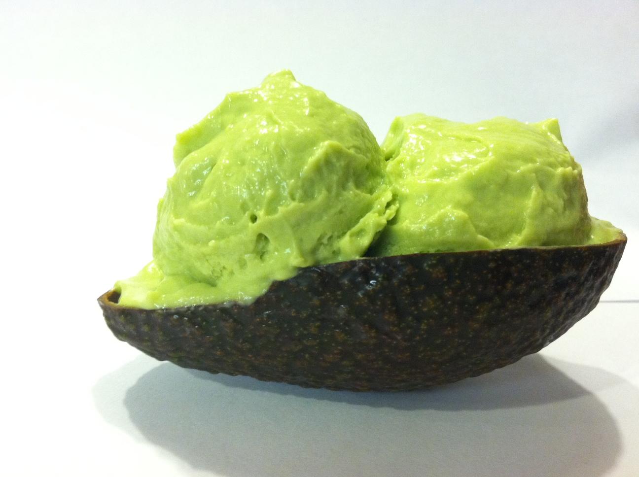 Vegan Avocado Lime Ice Cream