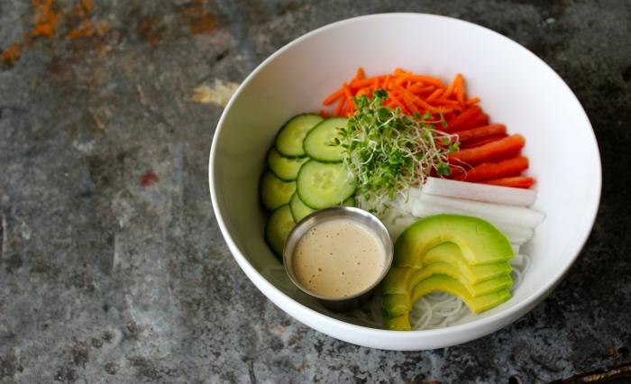 Vermicelli Rice Noodle Bowl